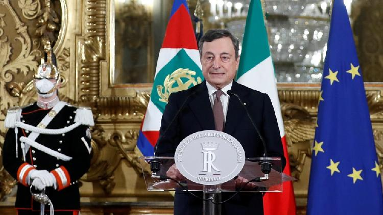 Draghi officially accepts mandate as Italy's new PM, unveils cabinet