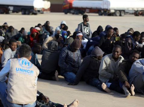 More than 90 illegal migrants rescued off Libyan coast