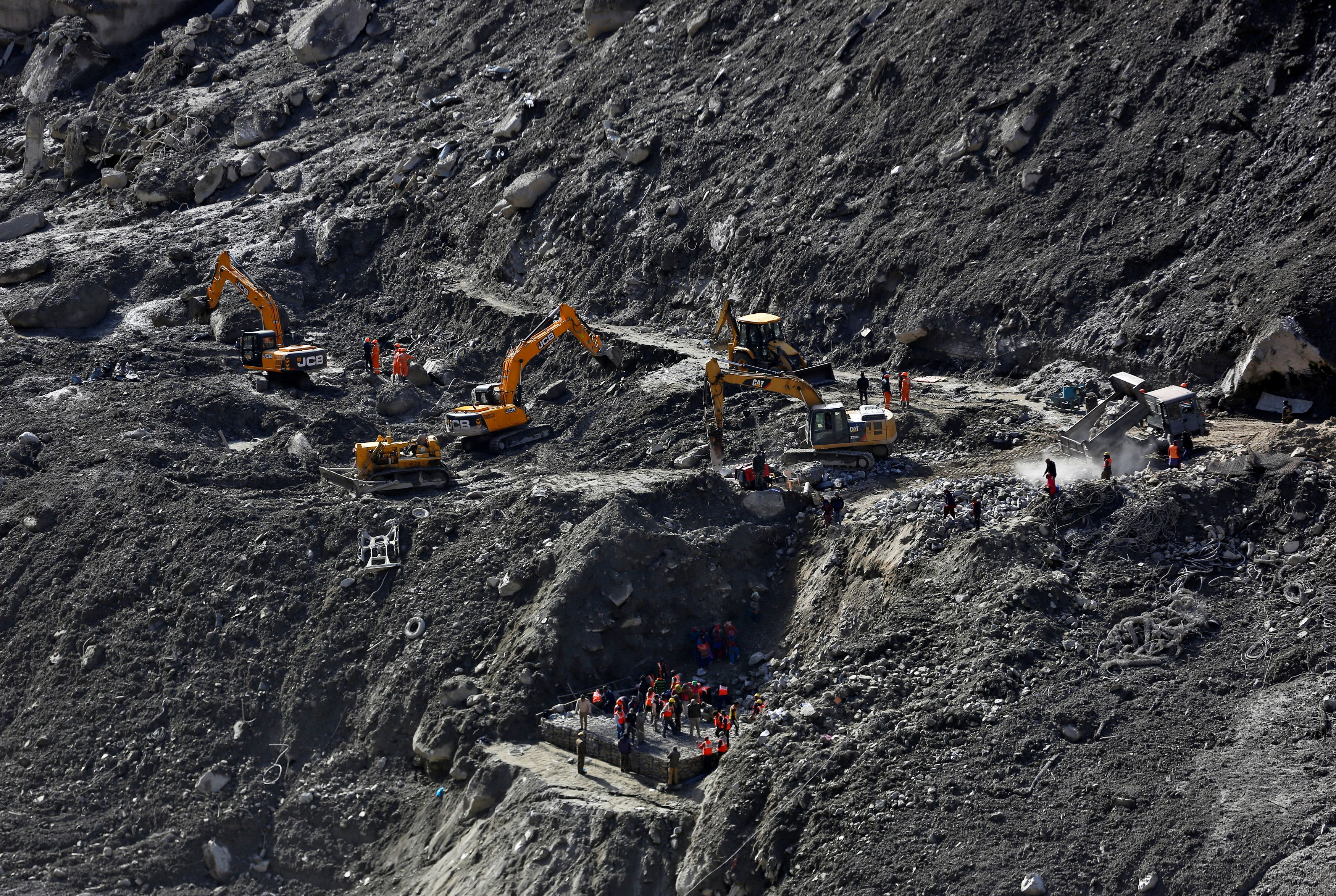 Indian glacier disaster death toll rises to 40