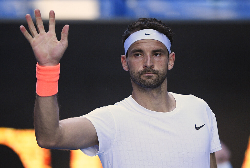 Dimitrov upsets US Open champion Thiem at Australian Open