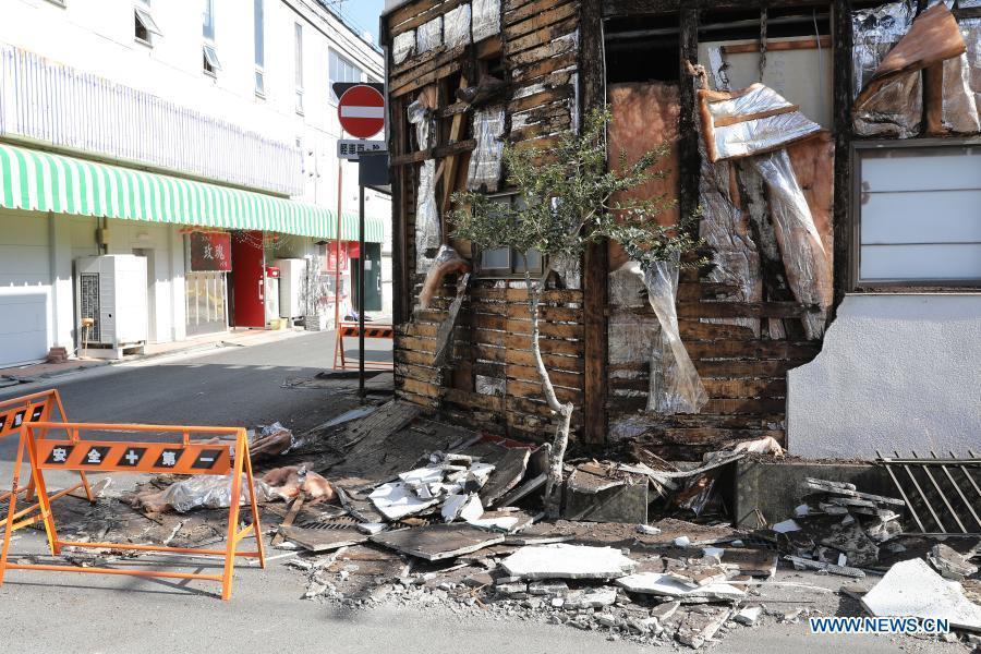 Over 150 injured in 7.3-magnitude quake in northeastern Japan