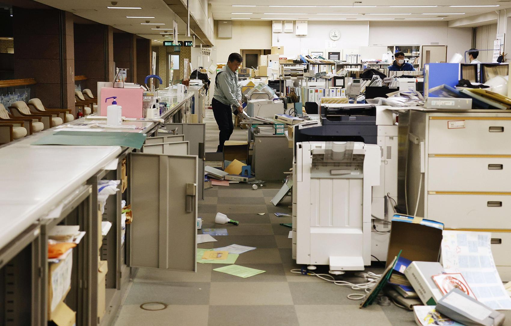 At least 30 injured after 7.3-magnitude quake strikes off northeastern Japan