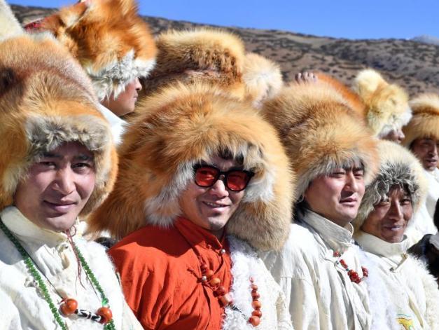 People celebrate Tibetan New Year