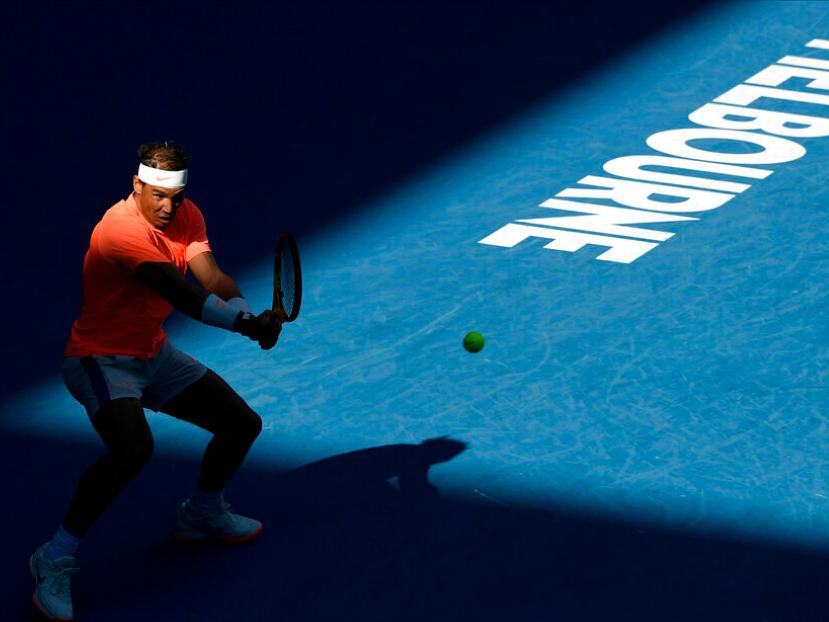 Nadal beats Fognini to reach 43rd Slam quarter-final