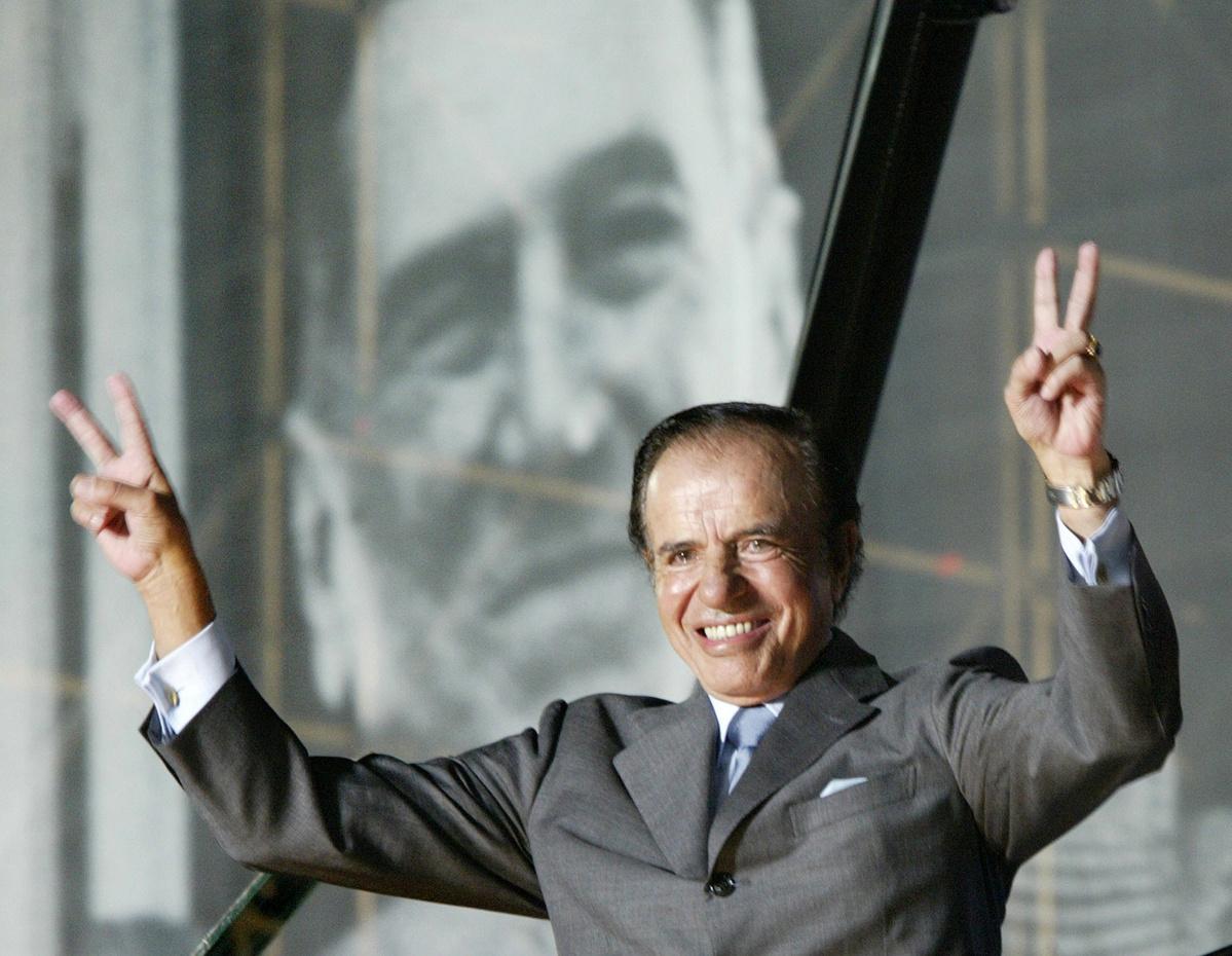 Former Argentine President Carlos Menem dies at 90