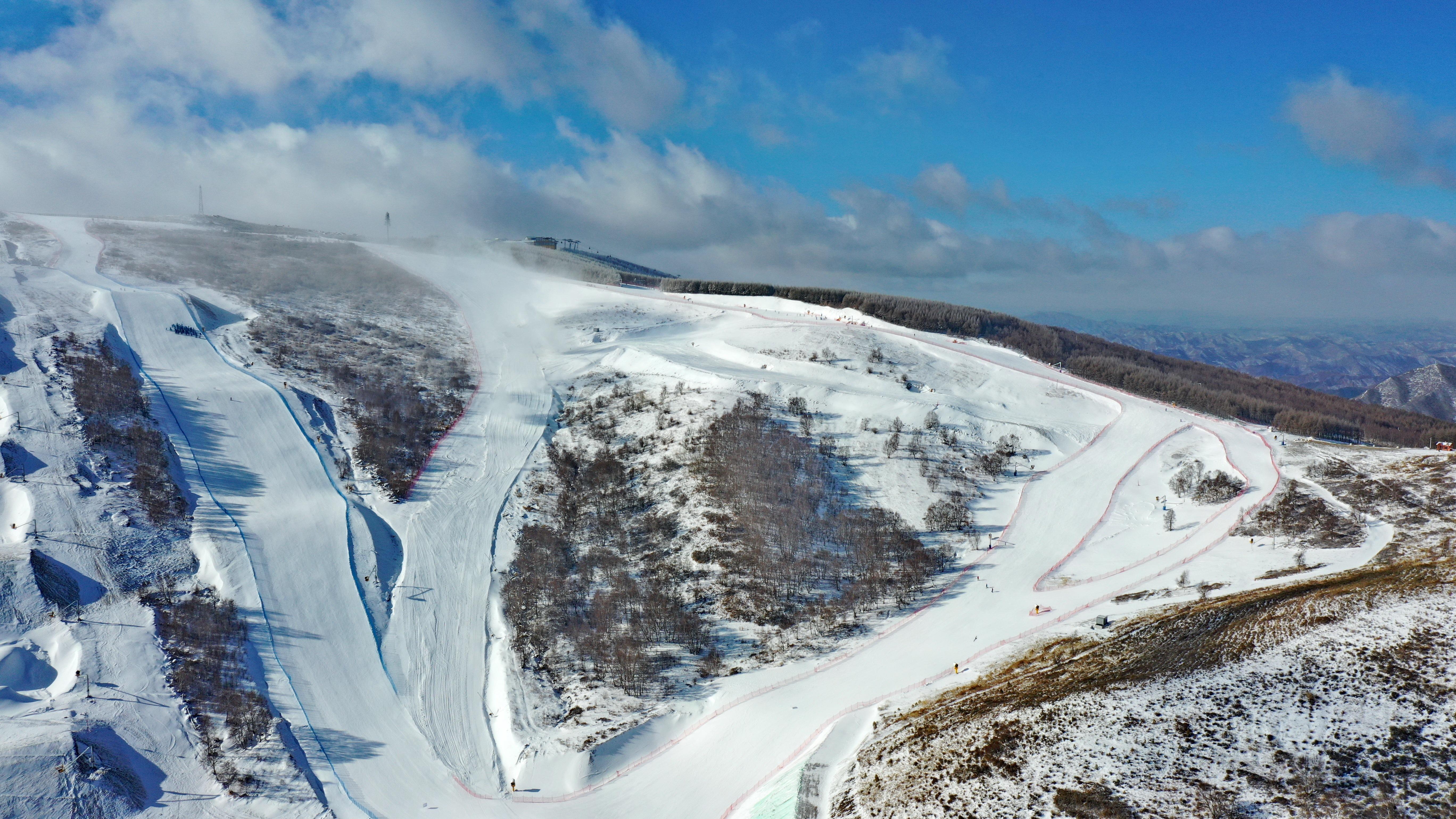 Diplomats visit 2022 Winter Olympics site in Zhangjiakou as the Games near