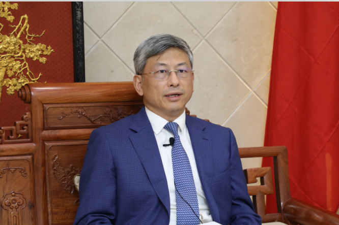 Chinese Ambassador to Myanmar H.E.Mr. Chen Hai gives interview to Myanmar Media on the current situation in Myanmar