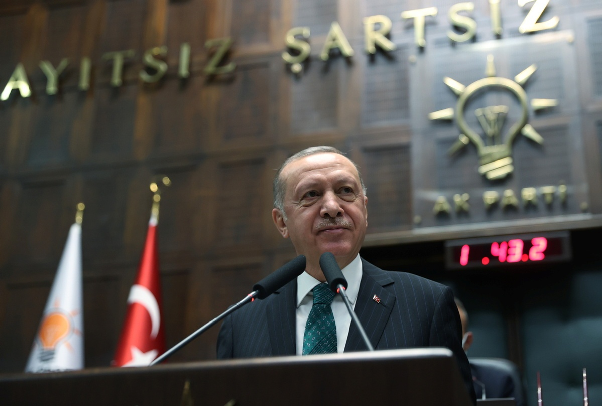 Turkish president accuses US of 'supporting' PKK