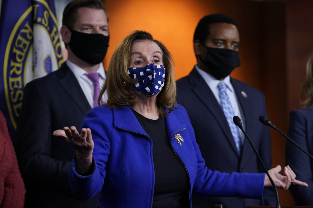 Pelosi: US lawmakers to set up commission to probe Capitol attack