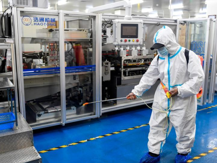 Jilin accelerates work resumption process with epidemic control in place