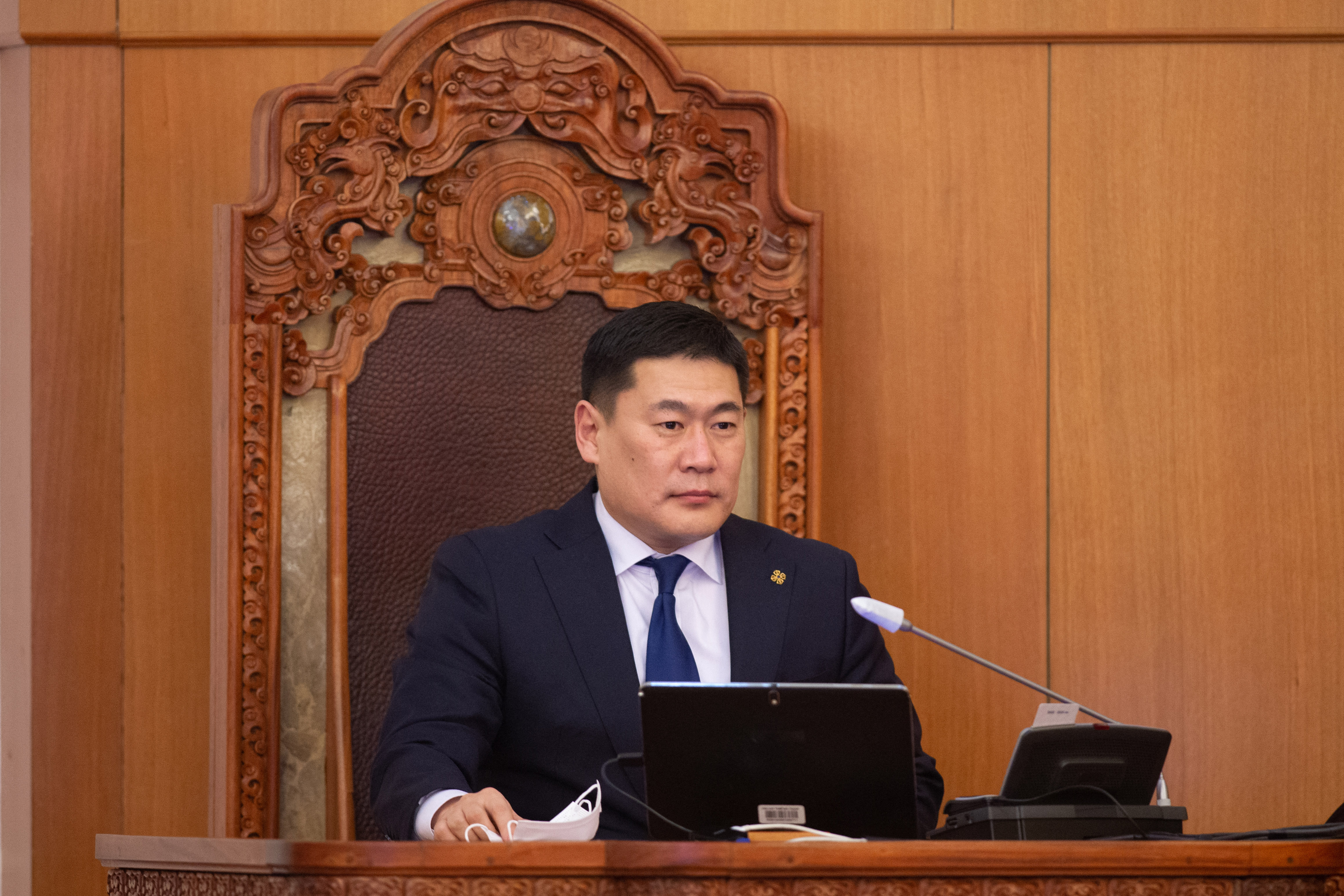 Mongolian PM to get 1st dose of COVID-19 vaccine
