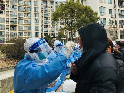 Final round of tests for quarantined residents in Shanghai