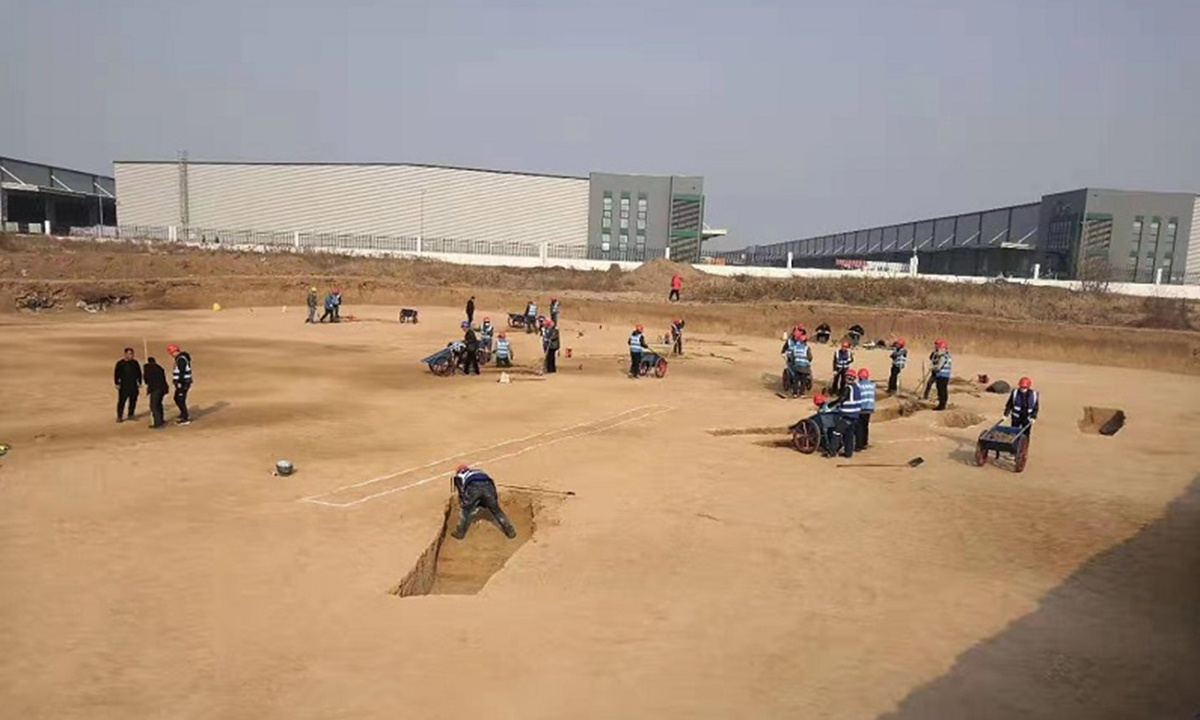 Airport construction site turns into archeological venue: Over 3,500 tombs found in China's ancient capital Xi'an