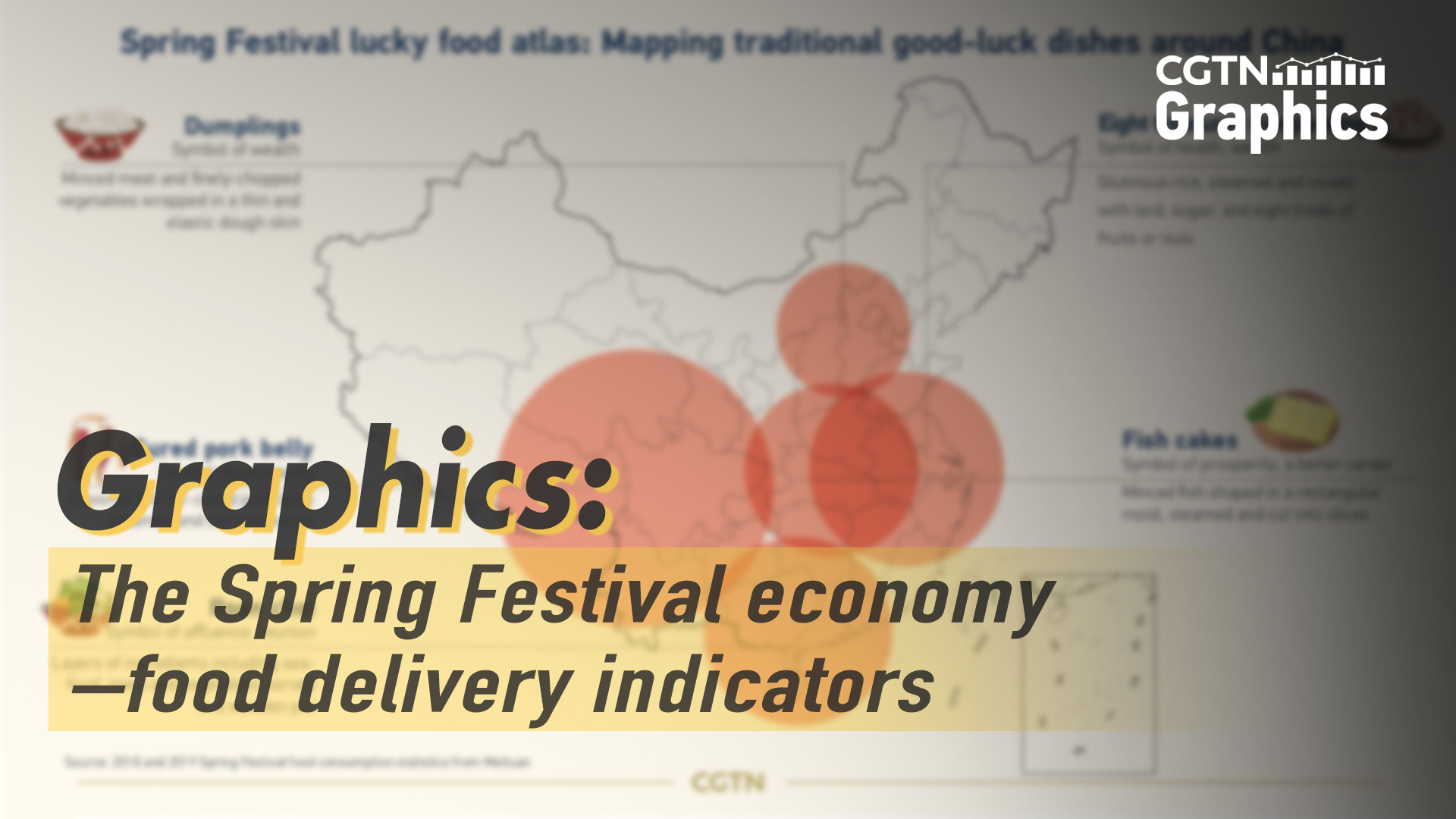 Graphics: The Spring Festival economy – food delivery indicators