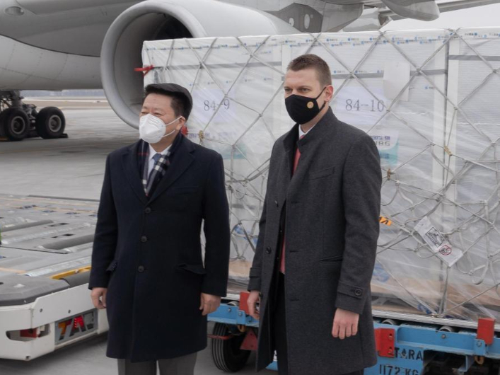 Hungary receives first shipment of Chinese COVID-19 vaccines