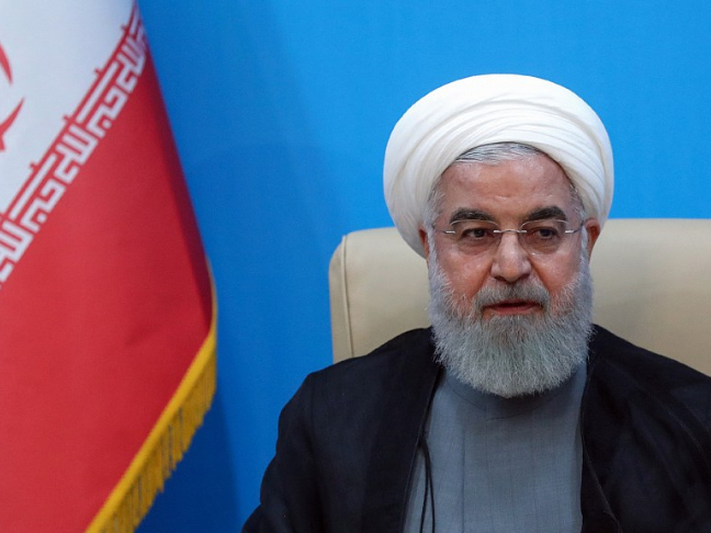 Iran's president reiterates nuclear weapons have no place in defense program