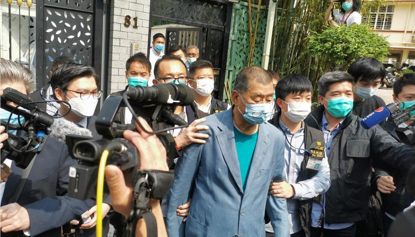 Media mogul Jimmy Lai arrested again while in jail: Report