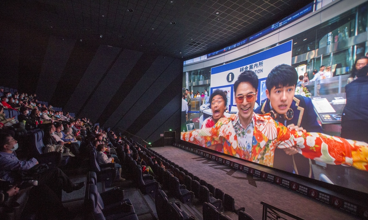 Dominated by domestic films, Chinese box office sets Spring Festival holiday record