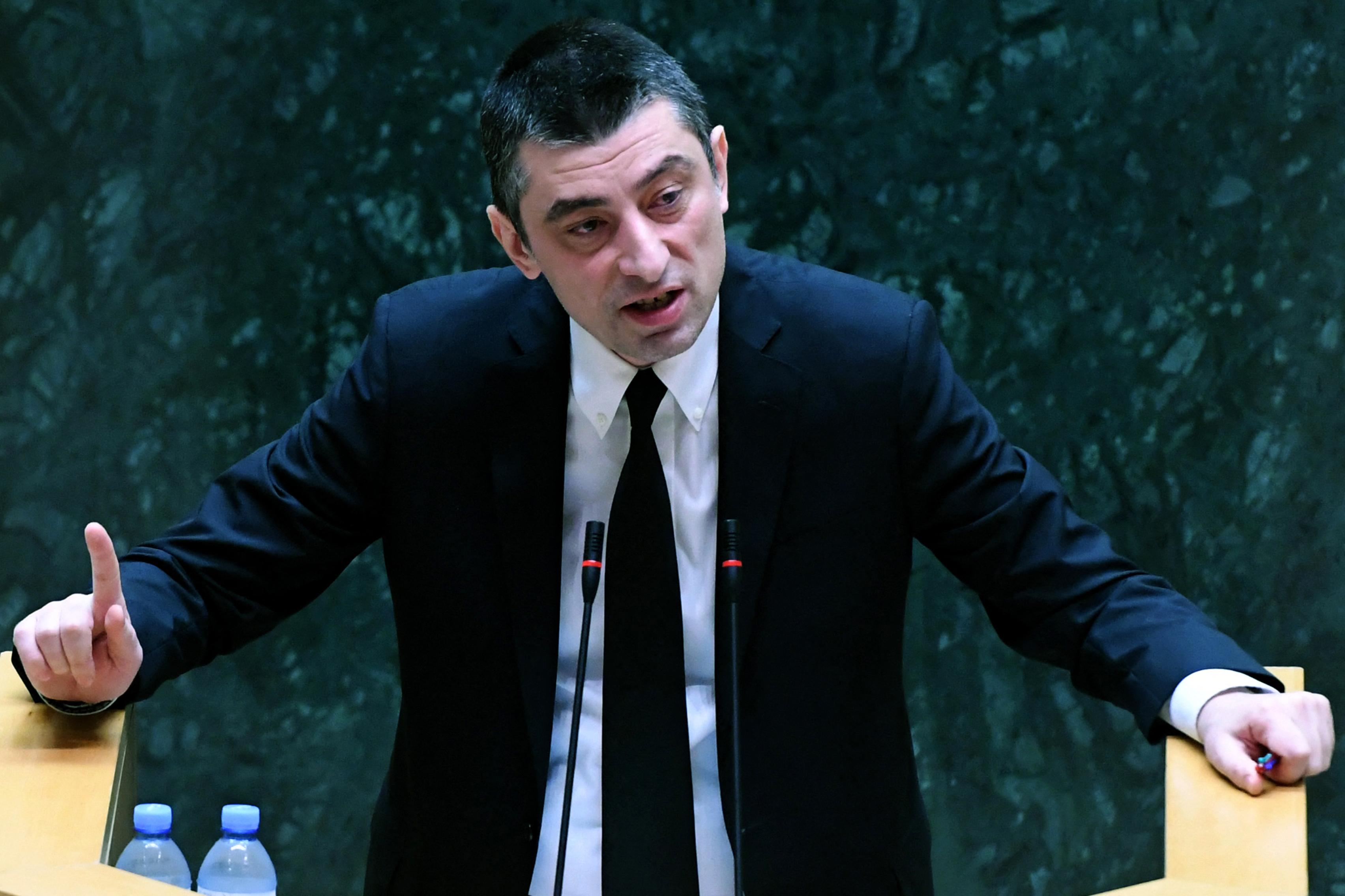 Georgia's PM announces resignation