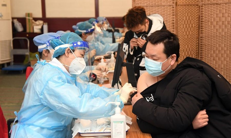 Beijing kicks off massive vaccination drive, estimated to finish in May