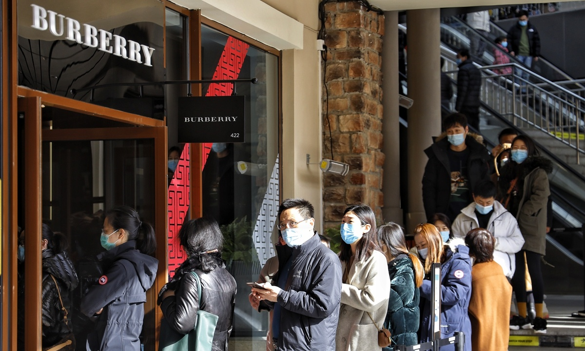 Consumption industry shares surge, propelled by strong Spring Festival spending