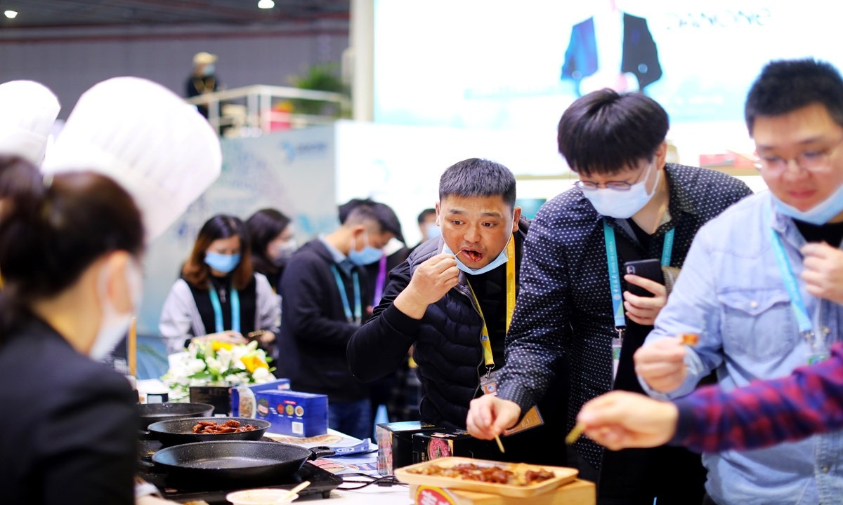 Chinese have a larger appetite for imported goods during festival