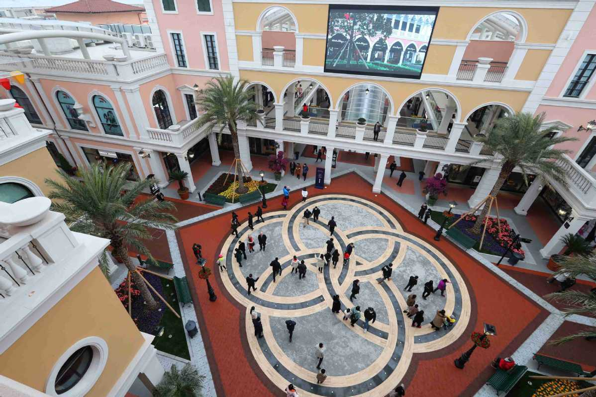 Outlet plazas make waves in retail sector