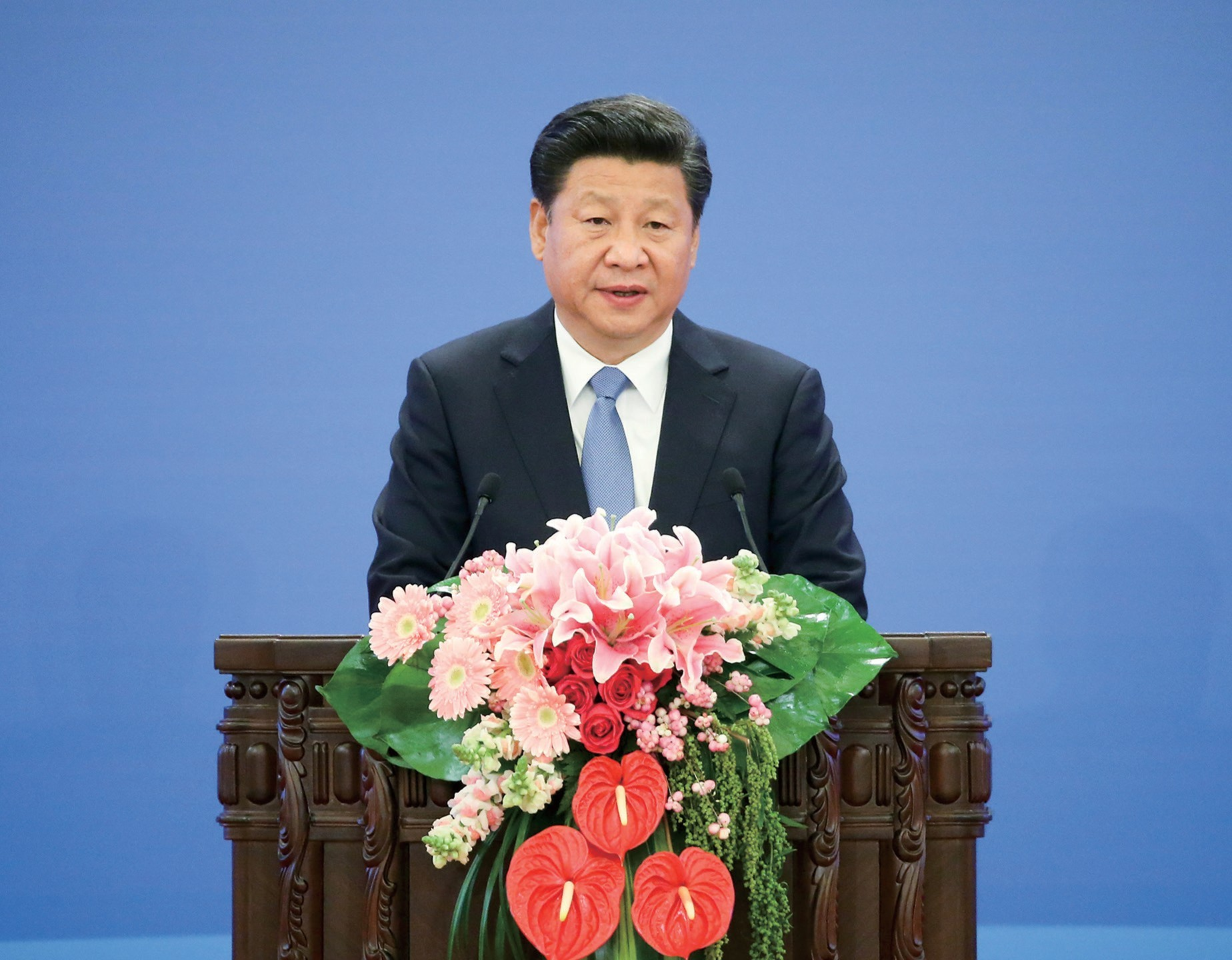 Xi: Poverty alleviation has always been a primary concern