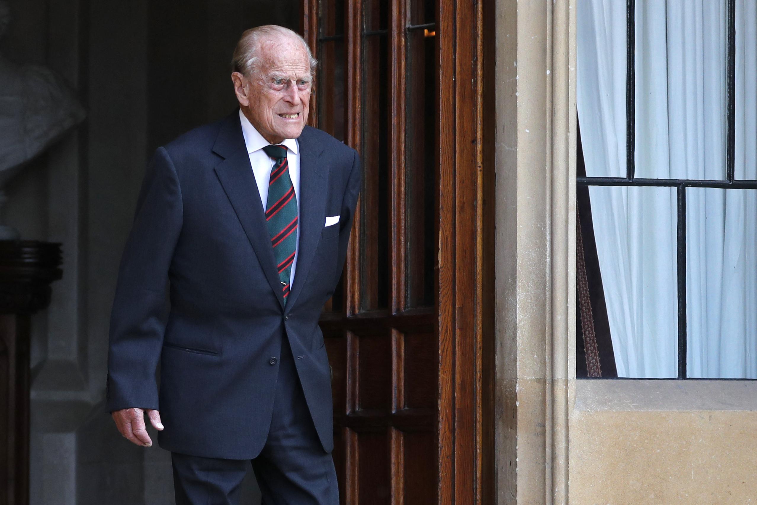 UK's Prince Philip taken to hospital as 'precaution'