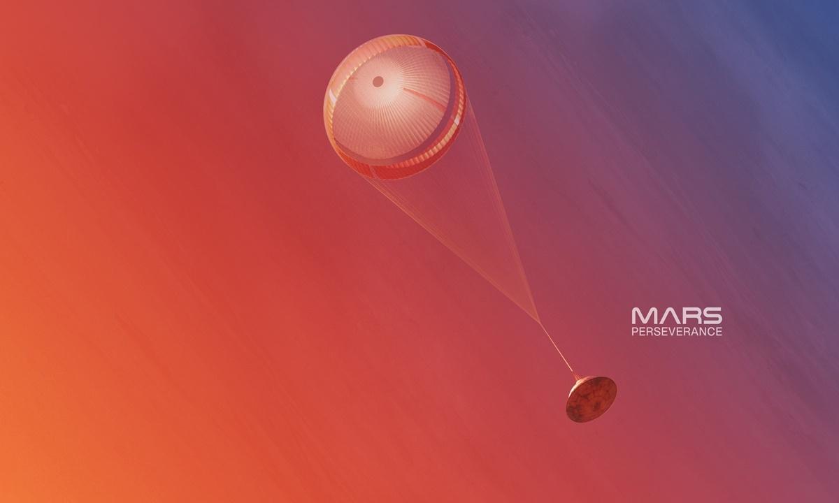 NASA rover's touchdown thrills Chinese netizens, ups zeal for Tianwen-1 landing