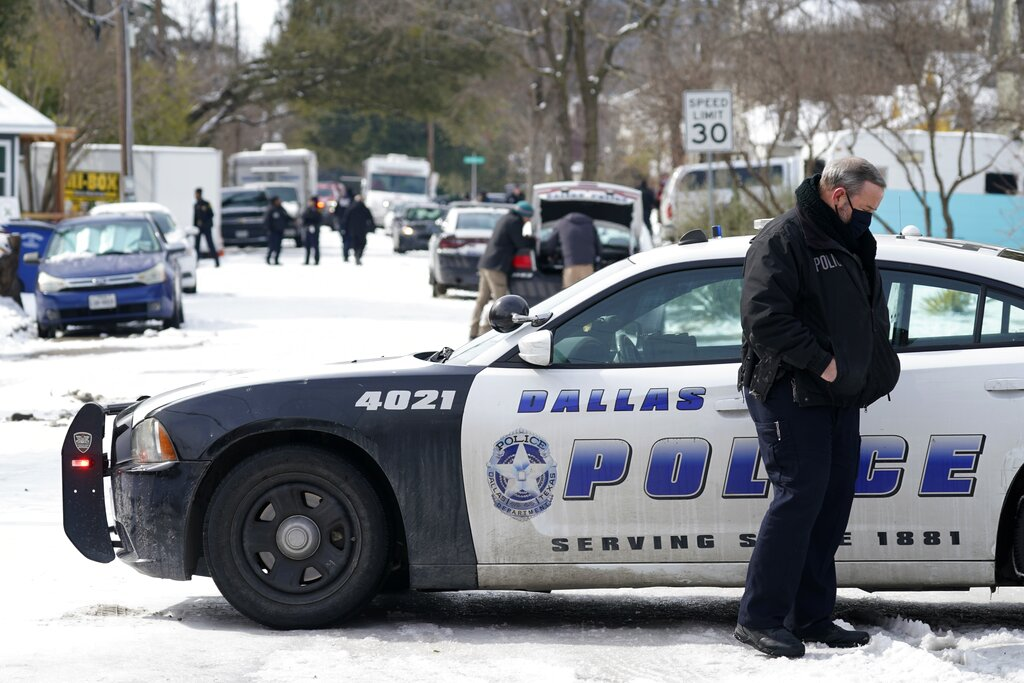 2 Dallas officers shot and wounded while responding to call