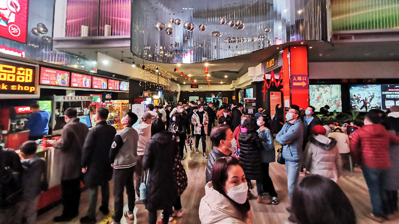 Graphics: Big rebound at Chinese New Year box office