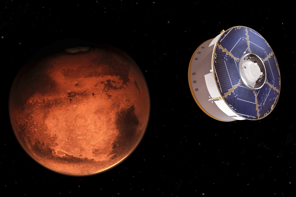 NASA's Perseverance rover lands on Mars to search for signs of ancient life