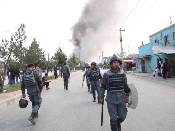 5 killed in serial explosions in Afghanistan's Kabul