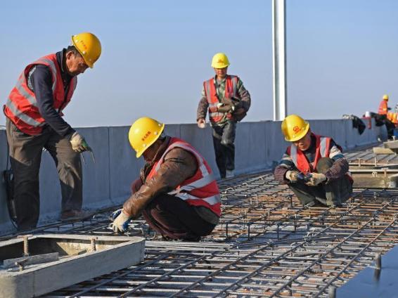 Construction of Jiangxi section of Anqing-Jiujiang high-speed railway resumes