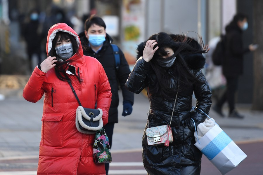 Cold wave to sweep north China