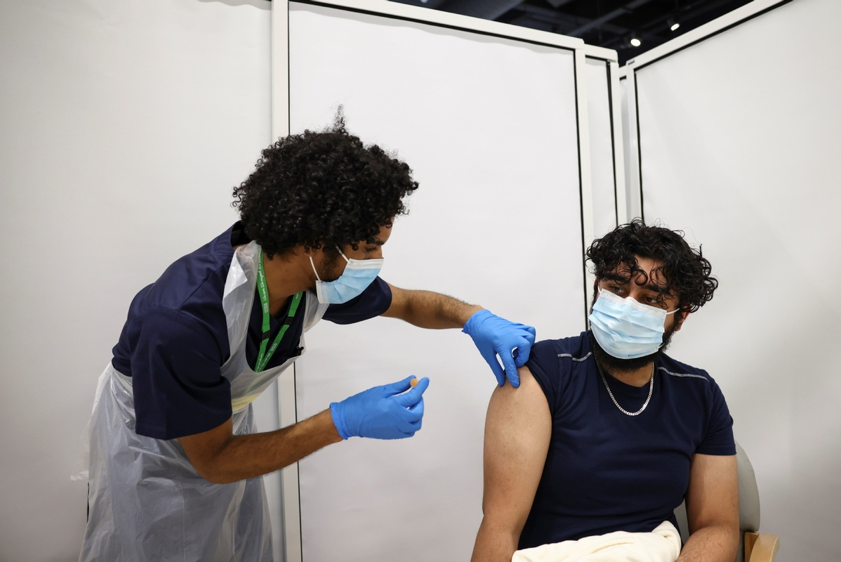 Britain to offer all adults a COVID-19 vaccine by end of July