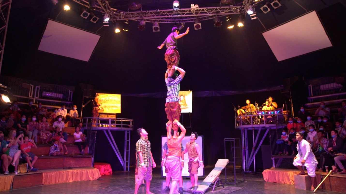 Cambodia's Circus of Hope fights for survival