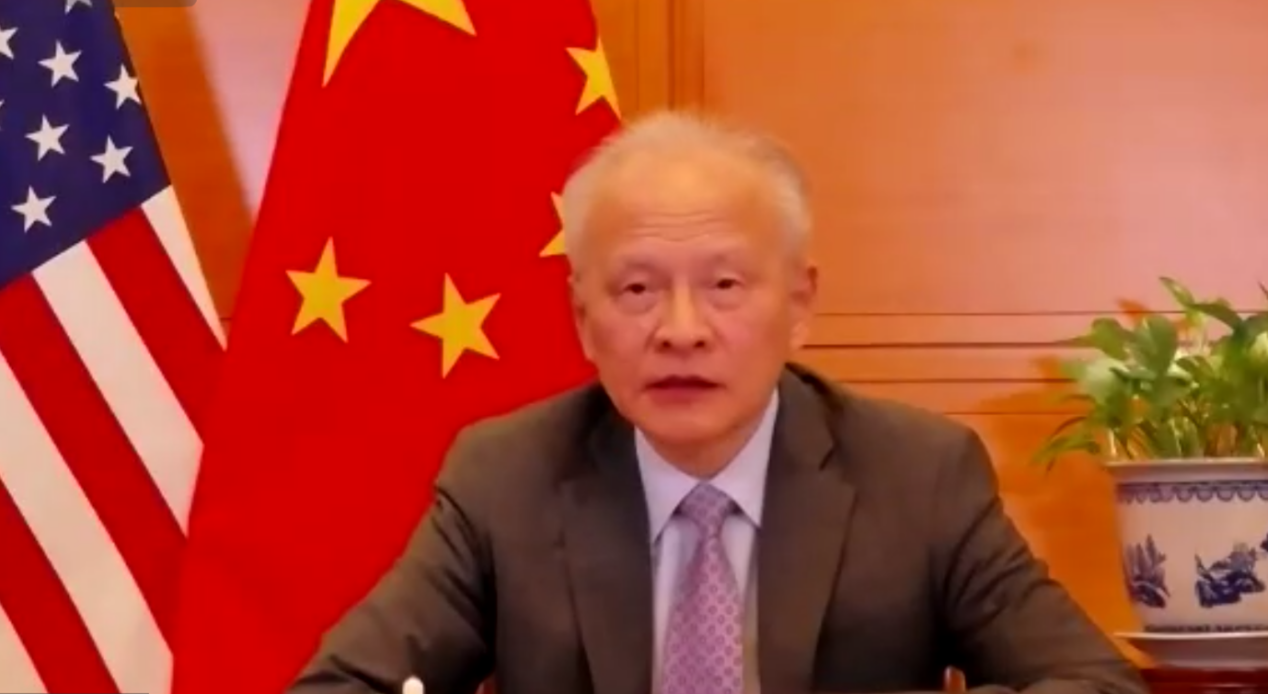 Chinese ambassador emphasizes it's high time to recalibrate direction of China-US relationship