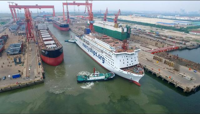World-class hospital ship completes sea trial in north China port