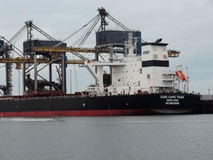 4 injured in explosion on Hong Kong-registered cargo vessel