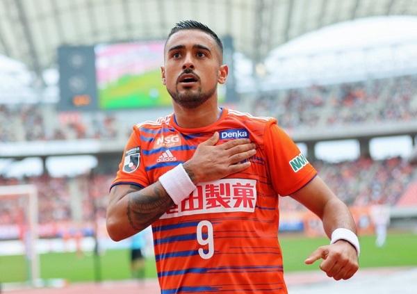 Brazilian striker Leonardo joins Shandong Taishan