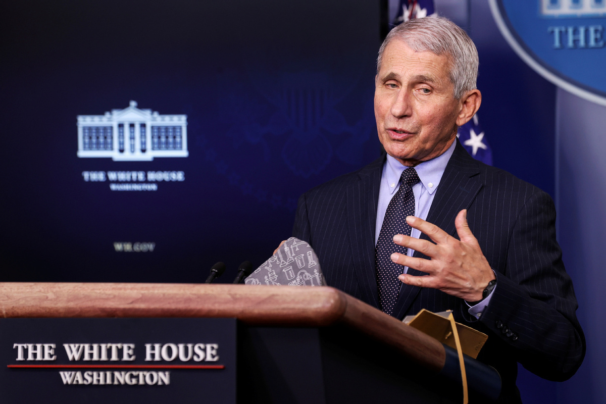 Fauci says US political divisions contributed to 500,000 dead from COVID-19