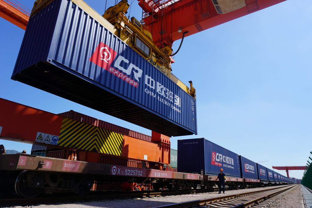 China-Europe Railway Express throughput surged by 50 percent in 2020