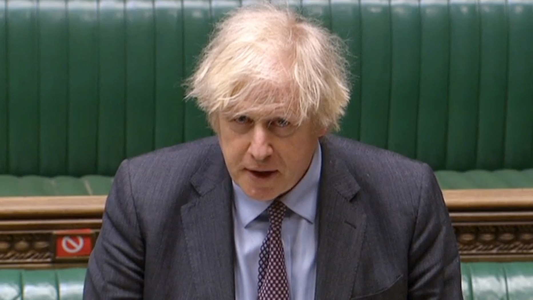 Boris Johnson announces four-step roadmap to end lockdown in England
