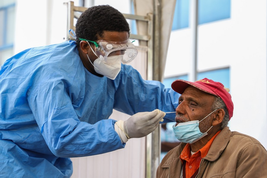 Africa's COVID-19 cases exceed 3.83 mln