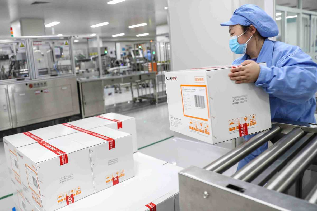 First batch of Chinese Sinovac vaccine arrives in Singapore