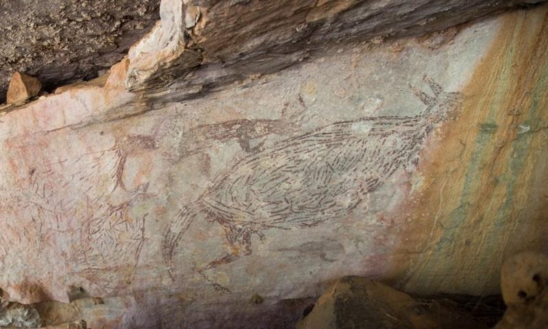 17,300-year-old kangaroo identified as Australia's oldest rock painting