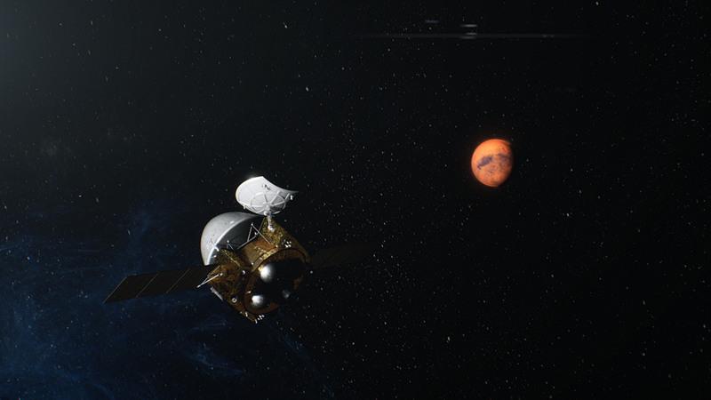 China's Tianwen-1 enters Mars parking orbit