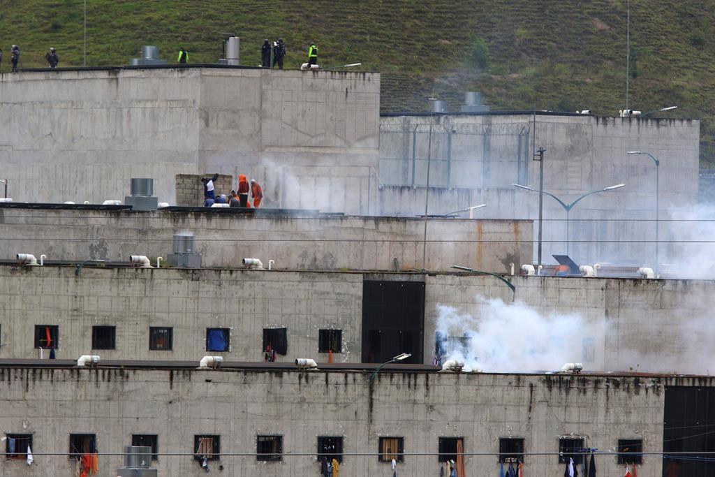 At least 67 dead in Ecuador jail riots
